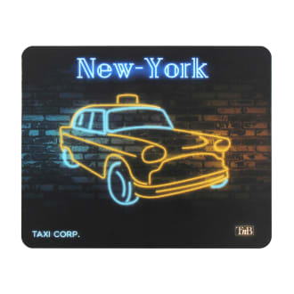 NEON mouse pad - NEW YORK design