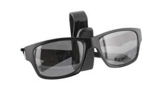 Clip holder for sun visor