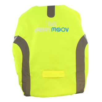 Backpack reflective cover