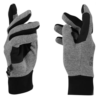 Touch screen gloves with fleece warm lining