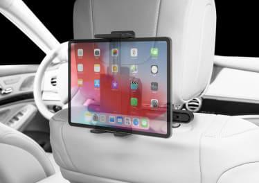 Support tablette dans une voiture