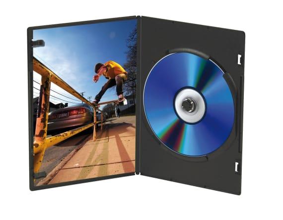 DVD cases x10 SLIM