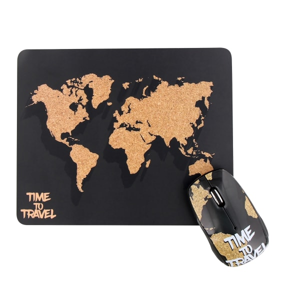 Tapis + Souris Design WORLD - COLLECTION EXCLUSIV'