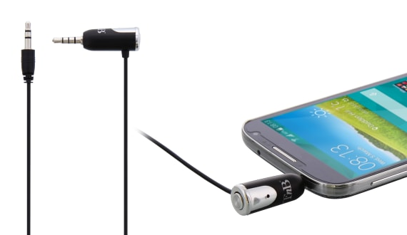 Jack 3,5mm hands free kit with RCA adapter
