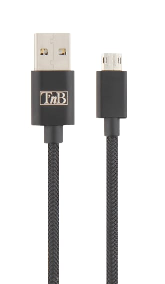 USB / Micro USB reversible cable 1m