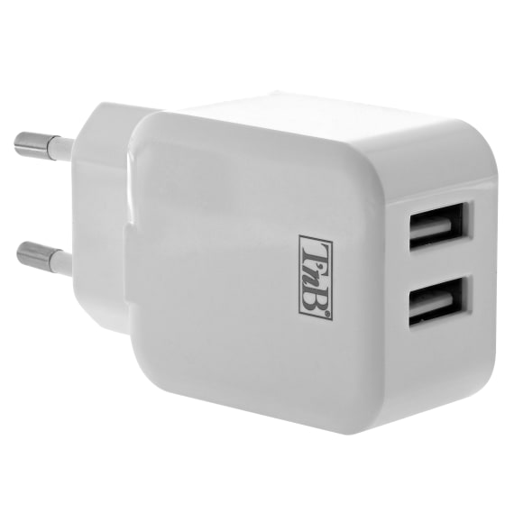 2 USB wall charger 12W