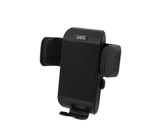 5W wireless charger and air vent grid jaw holder