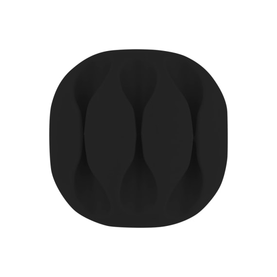 Fixations pour 3 câbles x4 noir