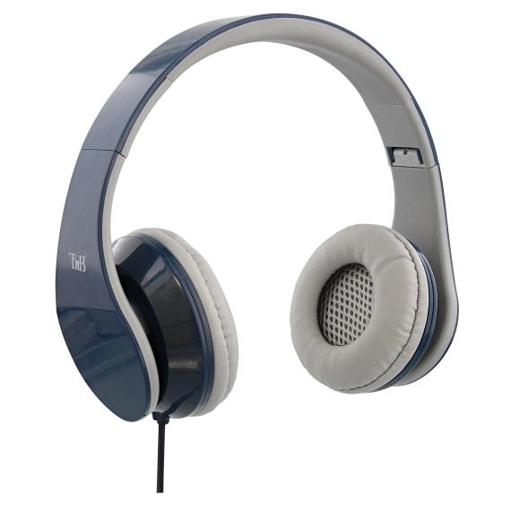 STREAM jack 3,5mm wired headphone blue