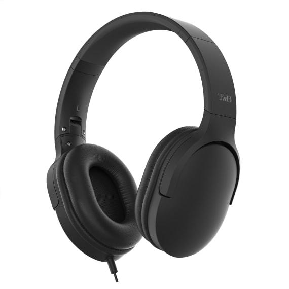 Wired headset USB Type-C / Jack C-SOUND BLACK