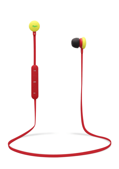 Bluetooth earphones TREND red