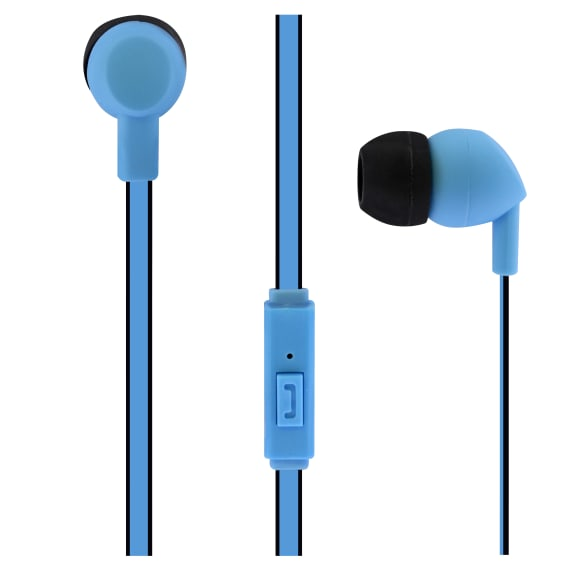 Wired earphones BE COLOR jack blue