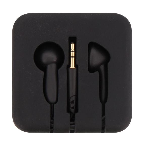 Wired earphones jack POCKET black