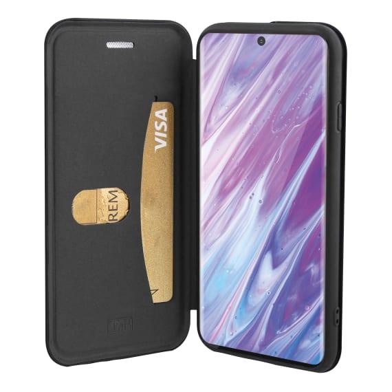 Etui folio premium pour Samsung Galaxy S20 Plus.