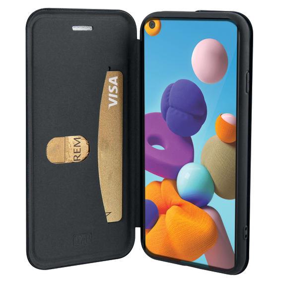 Premium folio case for Samsung Galaxy A21.