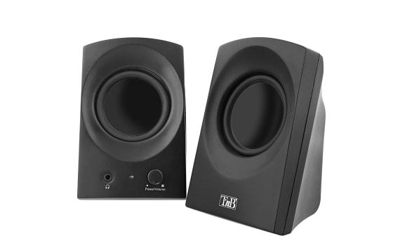 2.0 speakers ARK black