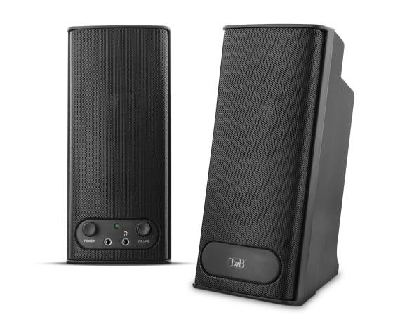 2.0 speakers 20W DUST black