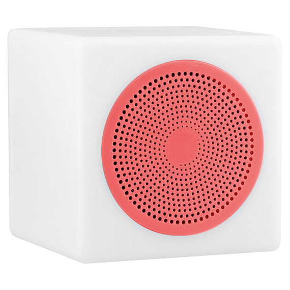 Wireless speaker LUMI LED pink