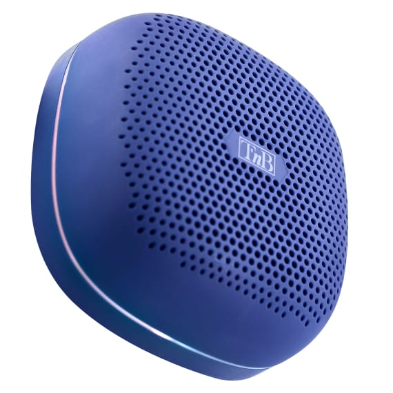 Wireless speaker RECORD II LED blue