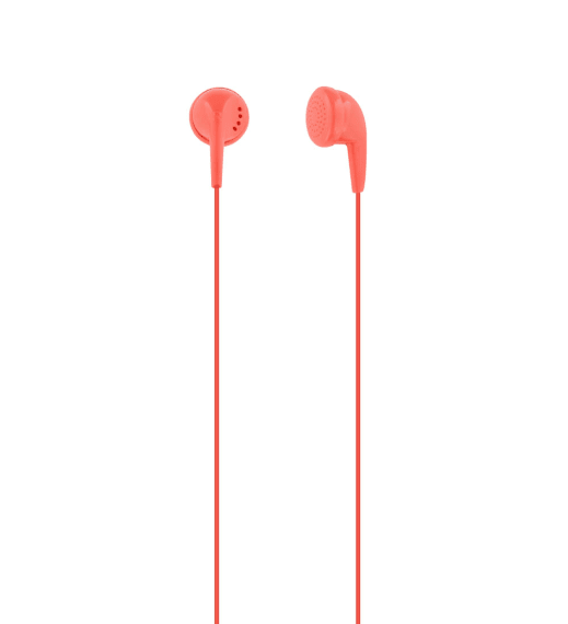 Wired earphones FIRST jack red