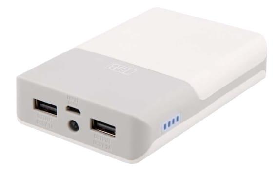 Batterie de secours 2 USB 7500 mAh