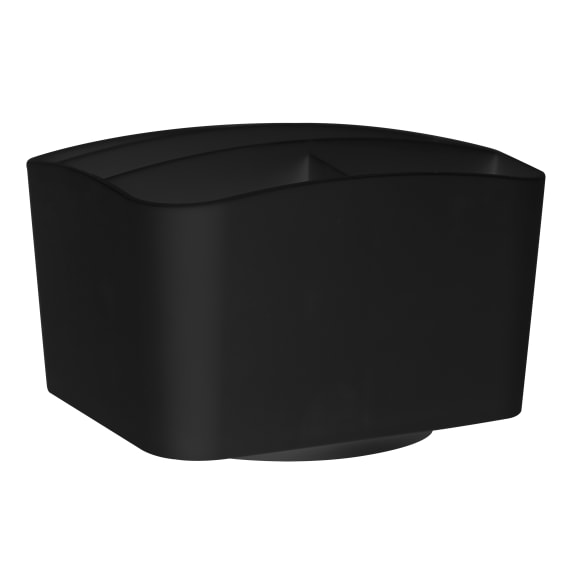 Black remote control holder