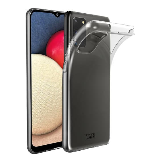 Samsung A02s transparent soft case