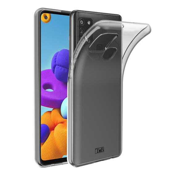 Samsung A21s transparent soft case