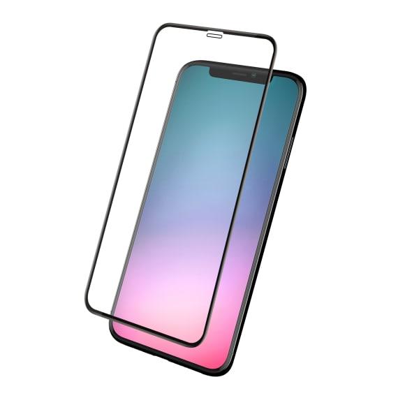 Protection intégrale en verre trempé pour iPhone 11 Pro Max.