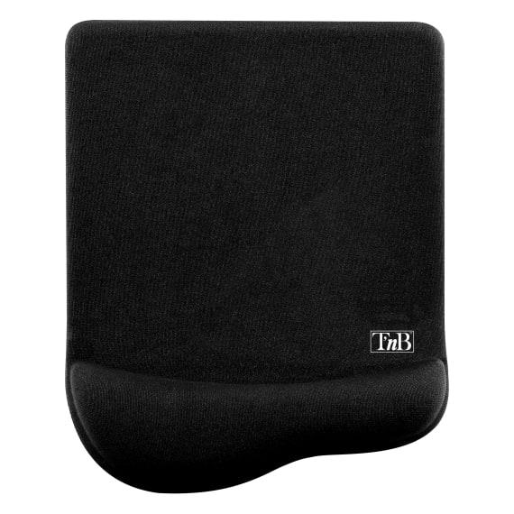 Ergonomic antimicrobial gel mouse pad black