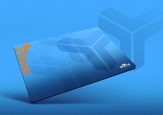 SHIELD gaming mouse pad