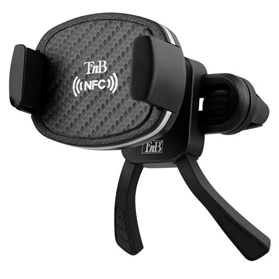 Support mâchoire pour grille d'aération NFC carbone
