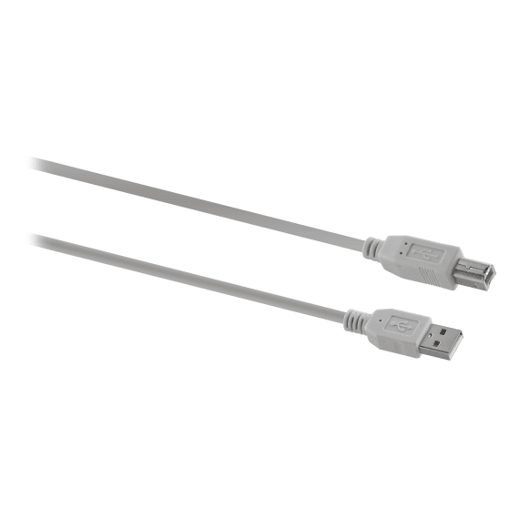 Male USB A / male USB B cable 3m