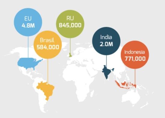 map startups