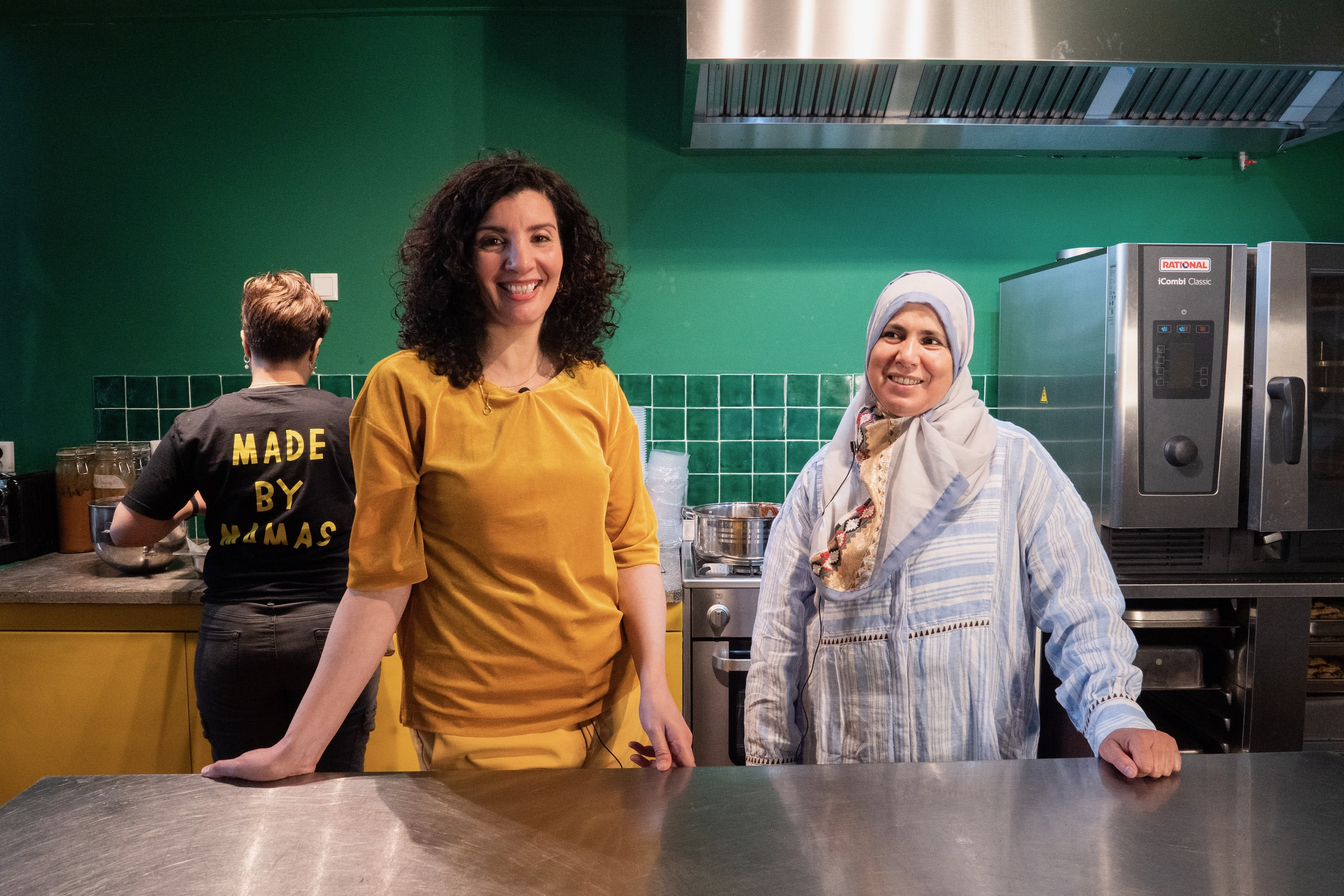 The women behind the Moroccan social enterprise, the Couscous bar in Amsterdam