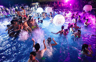 Pool Party Theme Event Idea