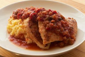Chicken Peperonata