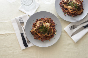 Rosemary Baked Chicken and Grains