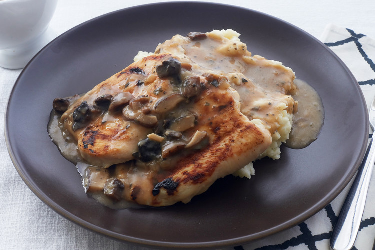 Mushroom and Sage Roasted Chicken