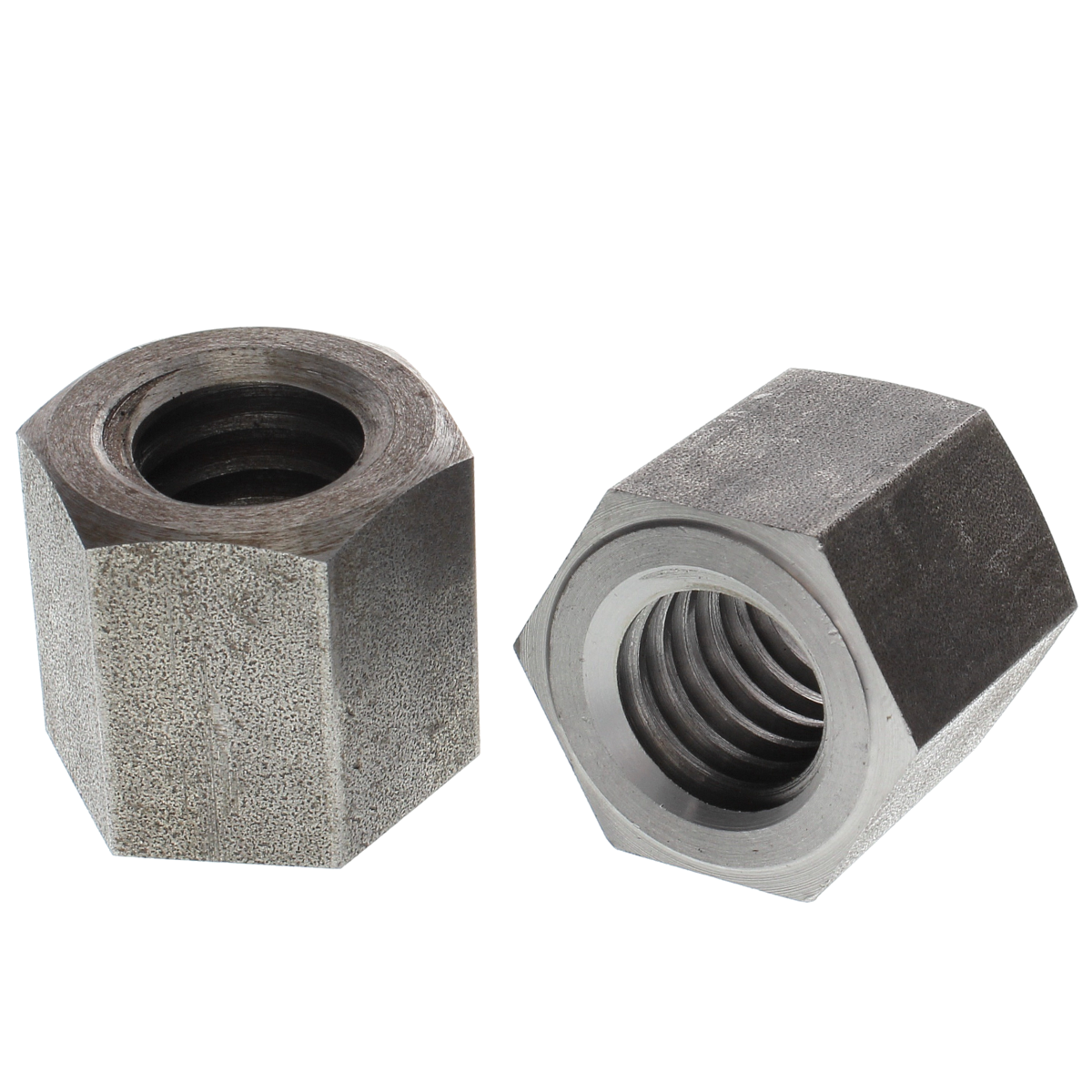 """1""""-5 Right Hand Acme Hex Nuts — Steel, Plain, 1/PKG"""