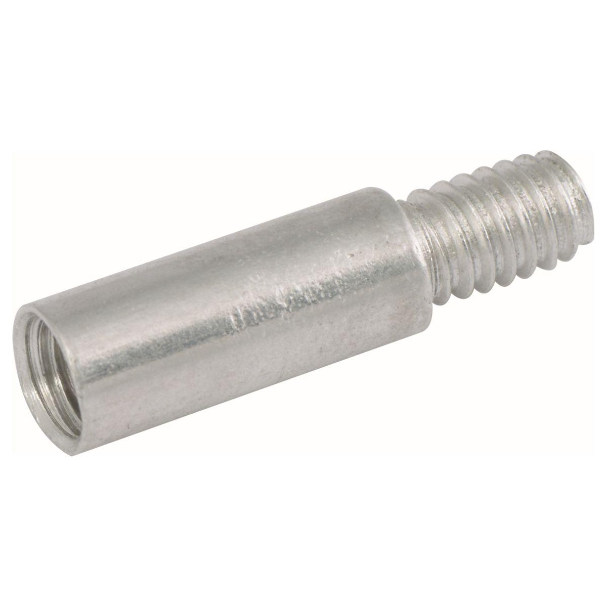 """.203"""" x 1"""" Aluminum Screw Post Extension, 25/PKG"""