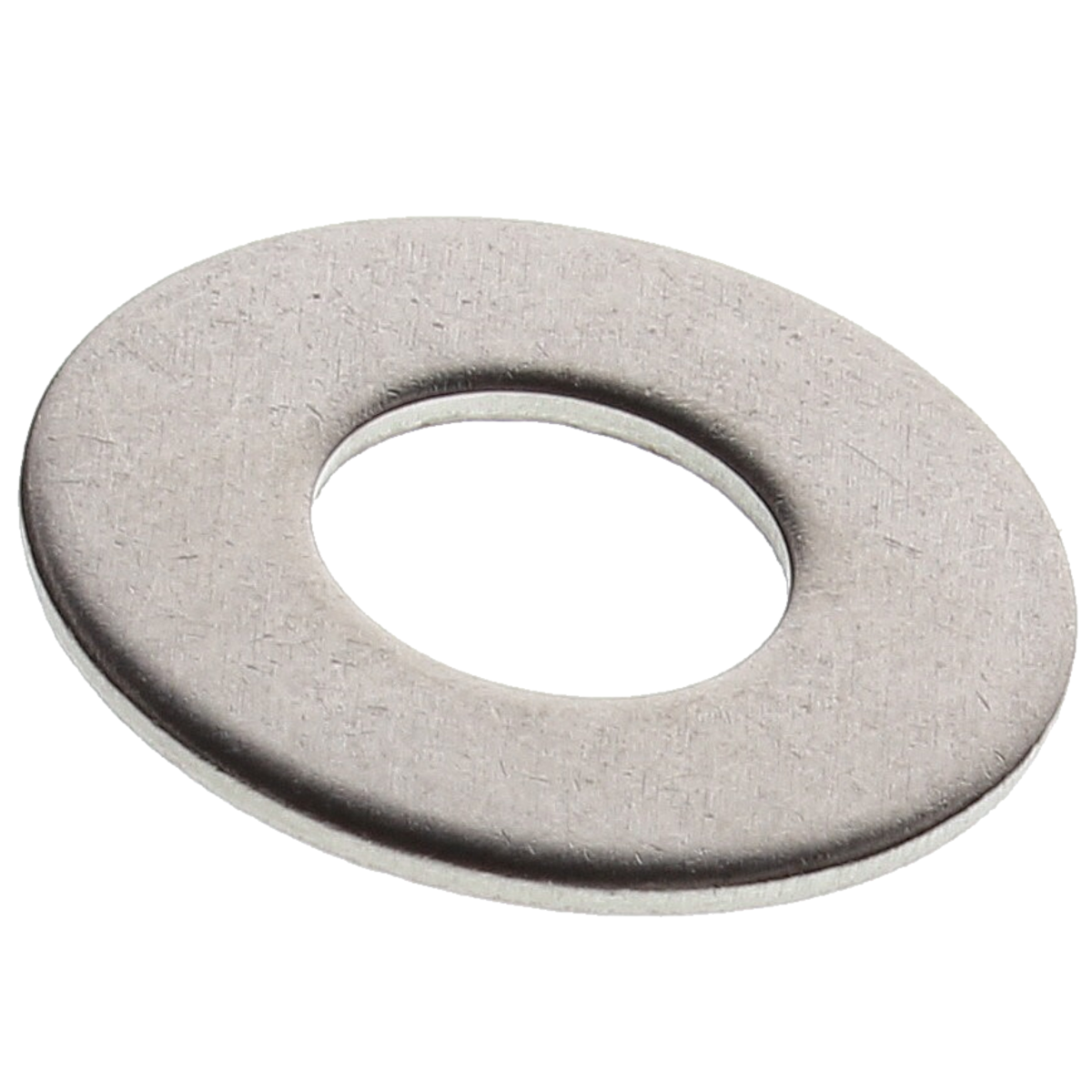 """#12 x 9/16"""" x .043 - .057 Flat Washers — 18-8 Stainless Steel, 100/PKG"""