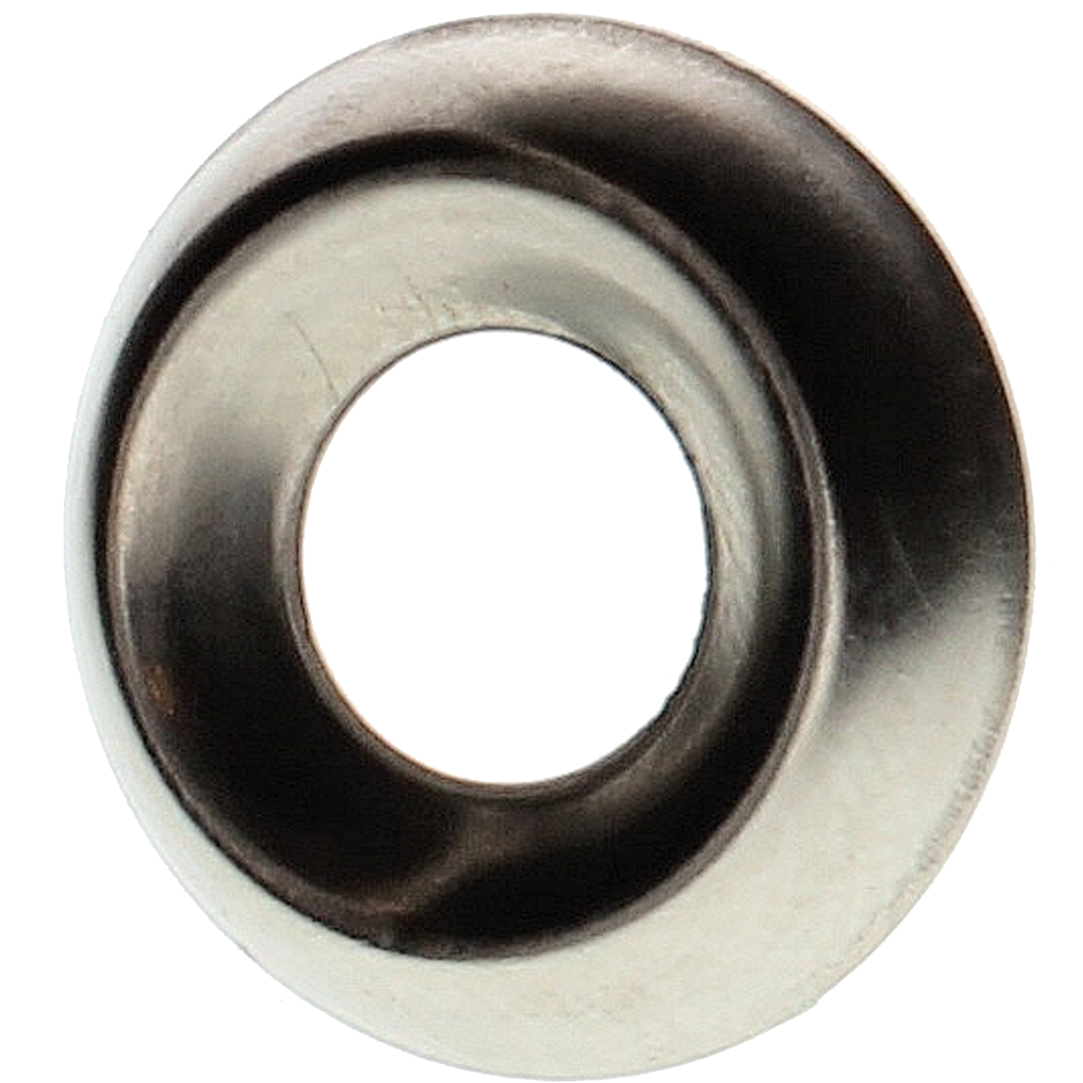 #12 Countersunk Finishing Washers — Nickel Brass, 100/PKG