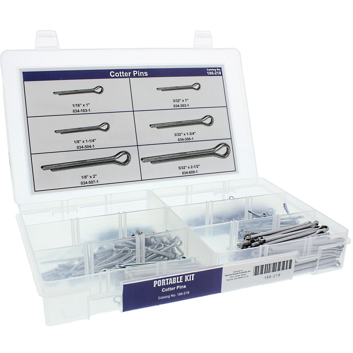 Cotter Pin Portable Kit Assortment