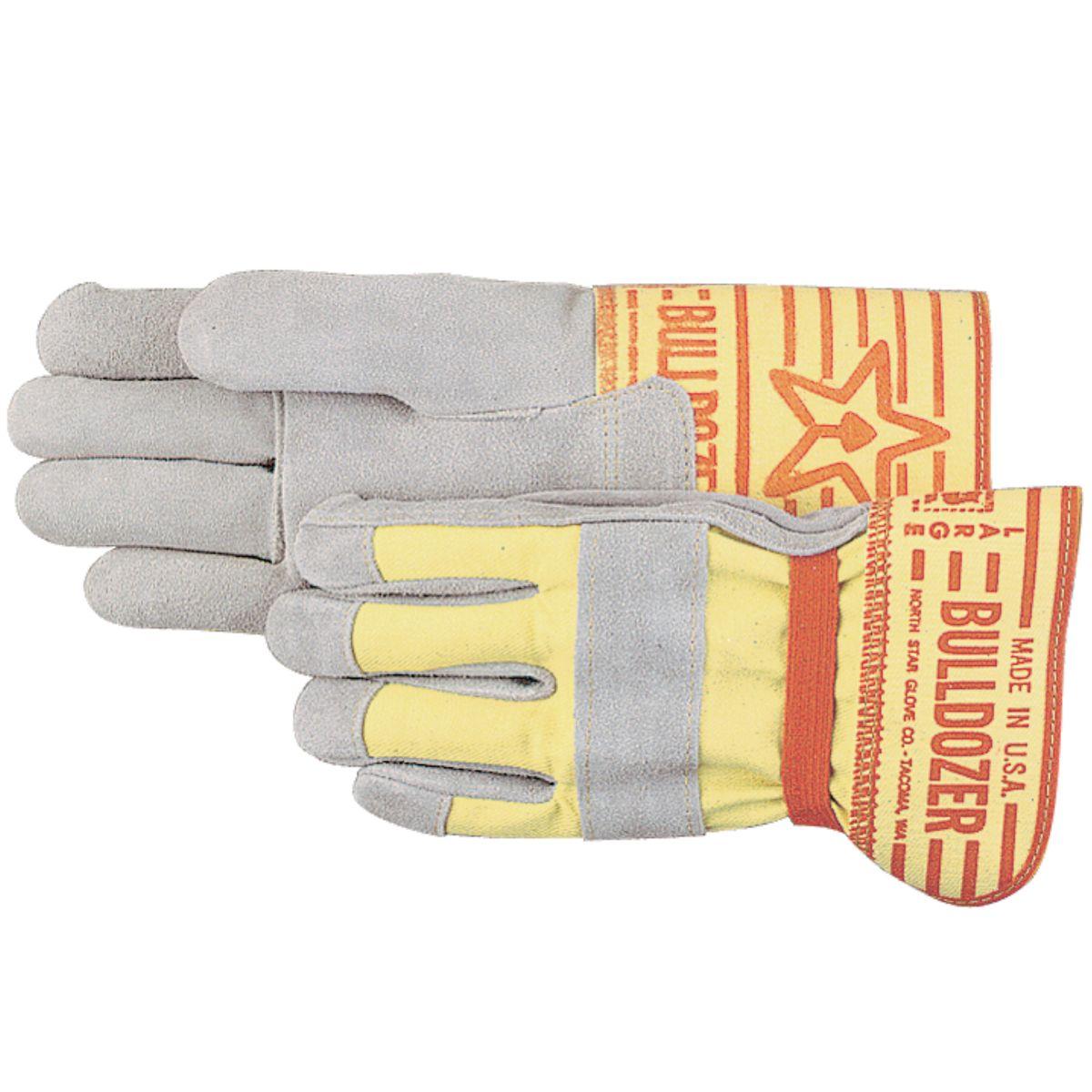 """Bulldozer"" Heavy Duty Leather Gloves"