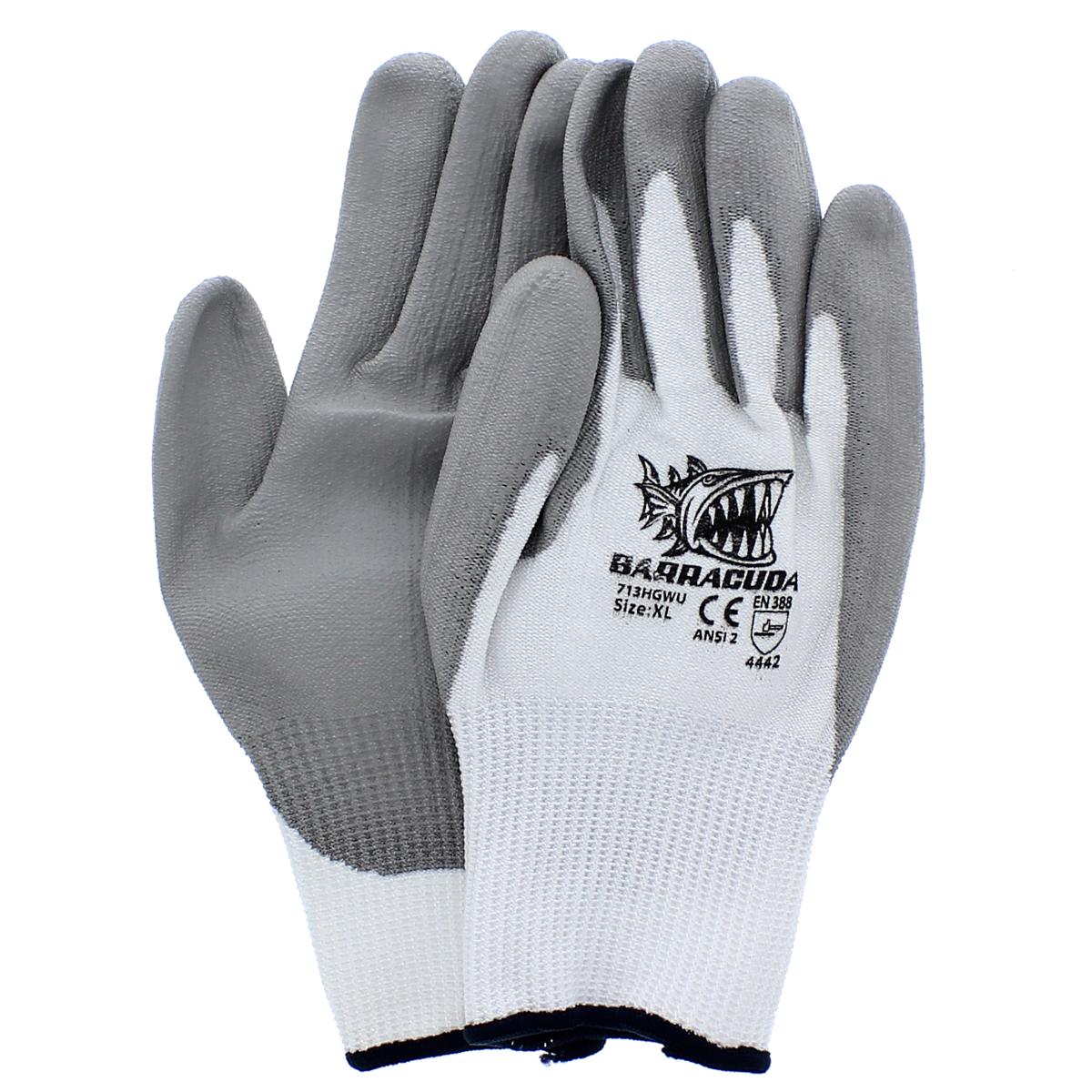 Barracuda HPPE Cut Resistant Gloves — Level 2, X-Large