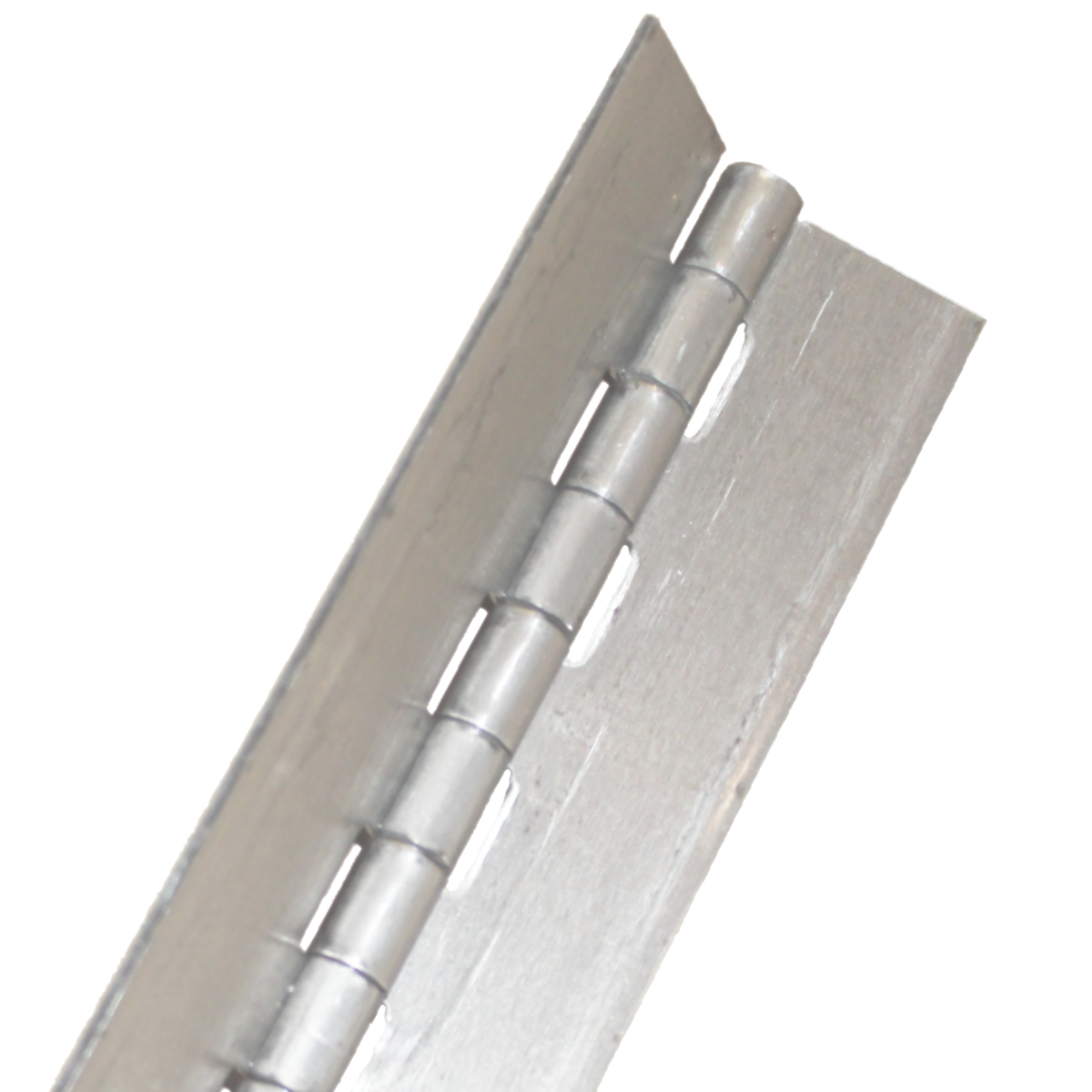 "1-1/2"" x 72"" .187"" Pin Continuous Hinge — Steel, Plain, Piano Hinge"