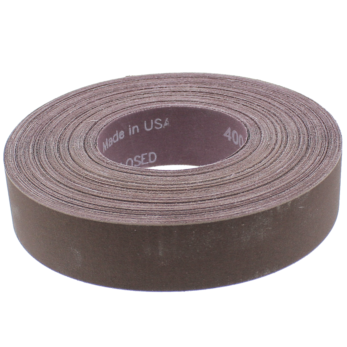 "1"" x 50 yds. 320 Grit Aluminum Oxide Cloth Utility Roll"