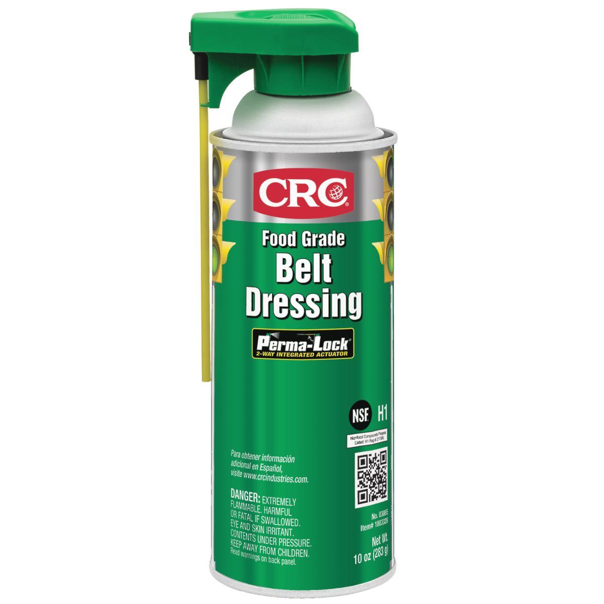 CRC Food Grade Belt Dressing, 10 oz. Aerosol
