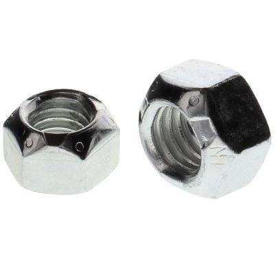 "1""-14  Uni-Torque Locking Nuts — All Steel Grade C, Fine, Zinc & Waxed, 10/PKG"